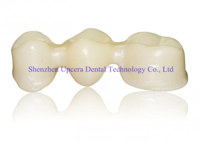 Dental Supplies High Translucency Zirconia CAD CAM HT White 1400Mpa