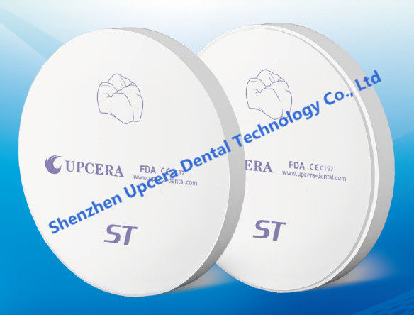Upcera New Ultra Translucent Anterior Solid Dental Zirconia Block