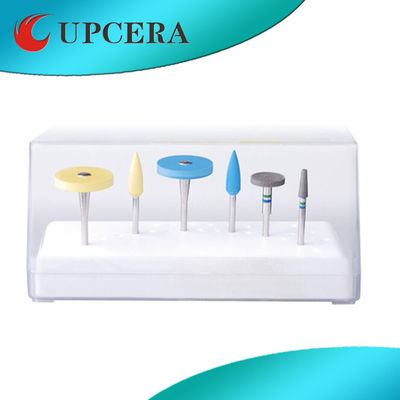 UPCERA Dental Polishing Burs Diamond Zirconia Grinder 3000rounds - 6000rounds / min